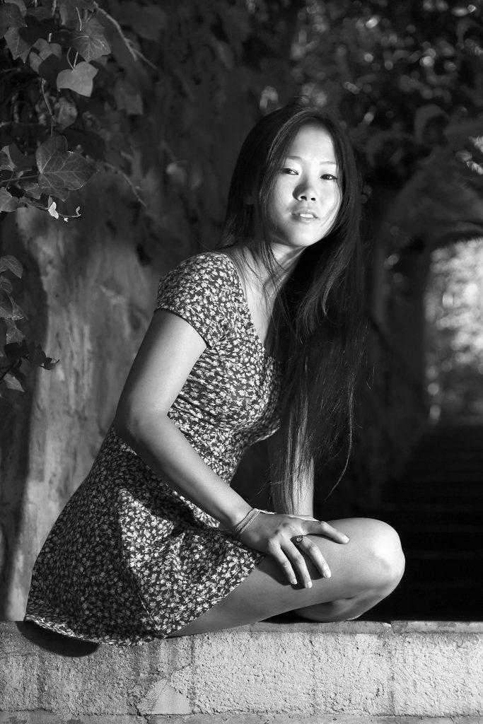 fotografia de retrato en blanco negro