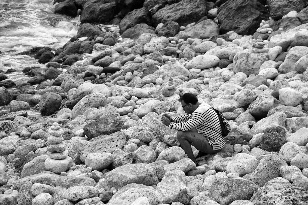 street photography en la playa